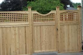 Lattice Top Gate and Fence