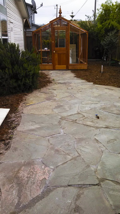 Flagstone Patio Installed